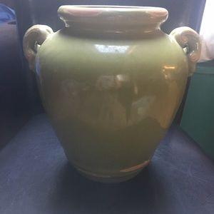 Gorgeous Green Outdoor/Indoor Vase-New
